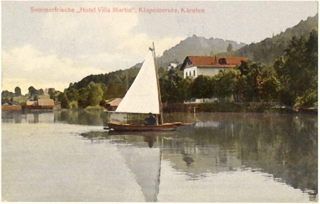 Strandbad Unterburg am Klopeiner See Geschichte